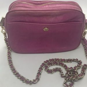 Rebecca Minkoff Rose Pink Leather Crossbody Bag